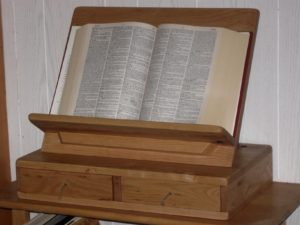 rustic dictionary stand